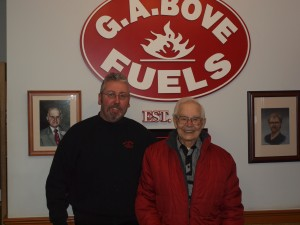 G.A. Bove Fuels - staff meeting with customer
