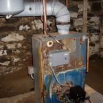 Residence in Clifton Park BEFORE new Buderus Boiler installation