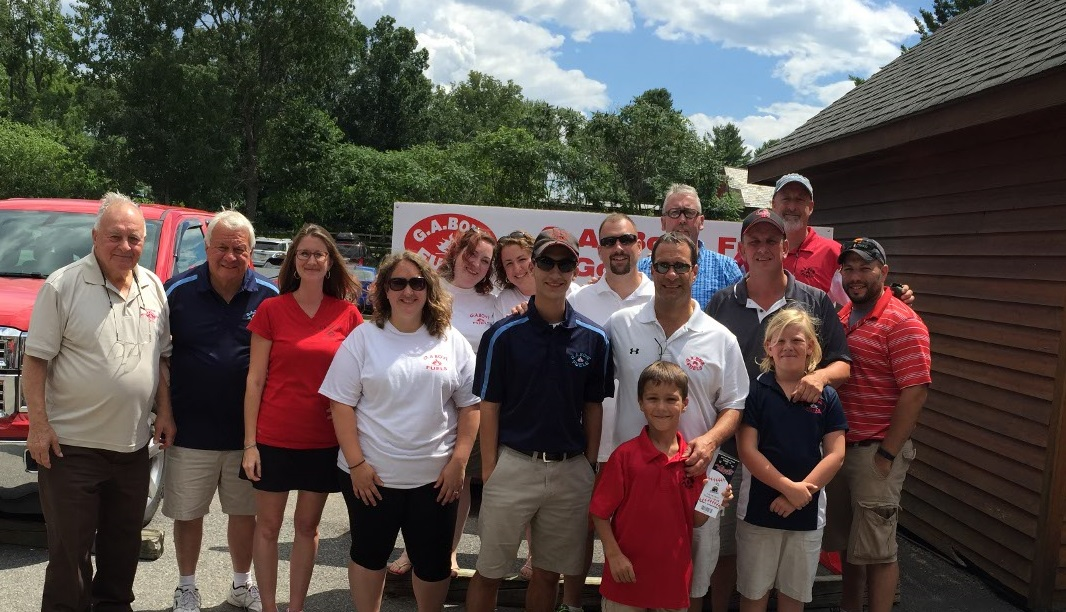 G.A. Bove Fuels annual golf classic - group photo